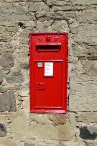 post box, Queen Victoria