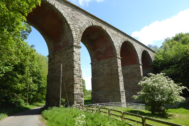 One of the viaducts at West Learmouth, on what was the Kelso branch of the York, Newcastle and Berwick railway, Carham Parish, Northumberland