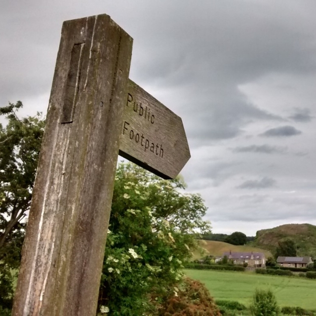 There are 12 miles of footpaths, bridleways and byways in Carham parish, Northumberland